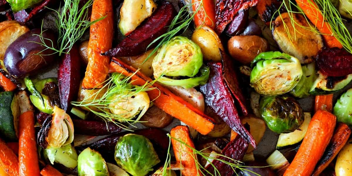 Image of roasted winter vegetables recipe